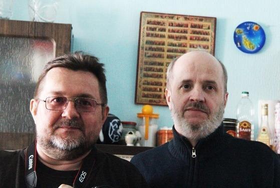 Вячеслав Смирнов и Владимир Мисюк